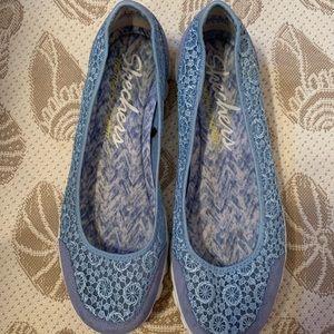 Sketcher slip on walking shoes